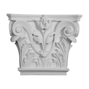 Restorers Architectural 13 5/8 Acanthus Urethane Capital
