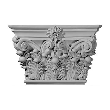 Restorers Architectural 15 7/8 Acanthus Urethane Capital