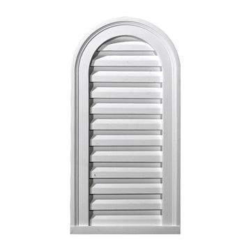 Restorers Architectural 16 Inch Cathedral Top Functional Gable Vent