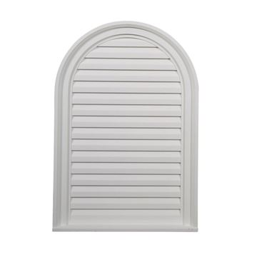 Restorers Architectural 22 Inch Cathedral Top Urethane Decorative Gable Vent