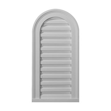 Restorers Architectural 22 Inch Cathedral Top Functional Gable Vent