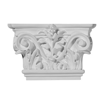 Restorers Architectural 5 1/2 Acanthus Urethane Capital