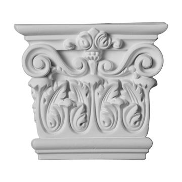 Restorers Architectural 5 Inch Corinthian Urethane Capital