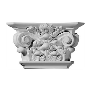 Restorers Architectural 6 1/8 Acanthus Urethane Capital
