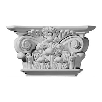 Restorers Architectural 6 7/8 Acanthus Urethane Capital