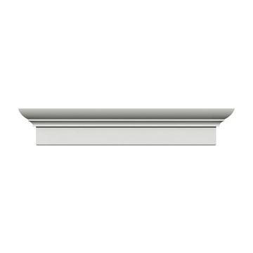 Restorers Architectural 6 Inch Standard Design Urethane Door Or Window Crosshead