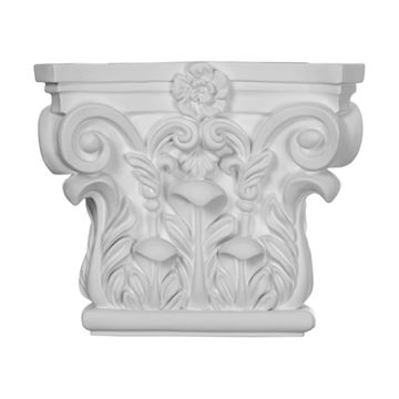 Restorers Architectural 7 Inch Corinthian Urethane Capital