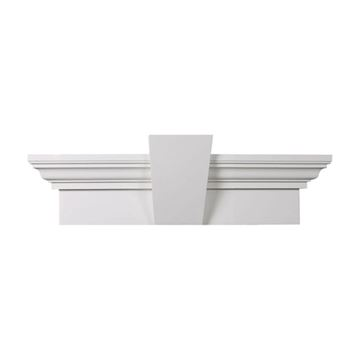 Restorers Architectural 9 Inch Flat Urethane Door Or Window Crosshead