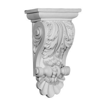Restorers Architectural Acanthus 14 7/8 Inch Urethane Corbel