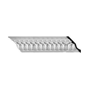 Restorers Architectural Acanthus Bead & Barrel Urethane Crown Molding