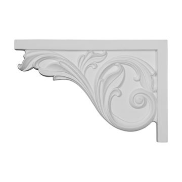 Restorers Architectural Acanthus Large Urethane Stair Bracket