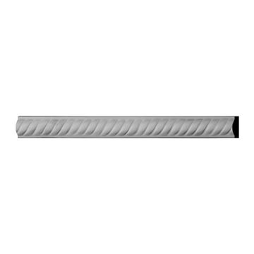 Restorers Architectural Alexandria Rope Urethane Panel Molding