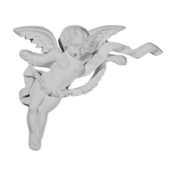 Restorers Architectural Angel Corner Urethane Onlay Applique