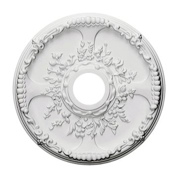 Restorers Architectural Antioch Urethane Ceiling Medallion