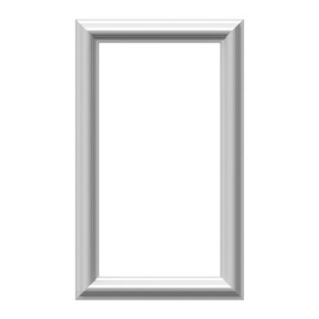 Restorers Architectural Ashford Classic 12 Inch Frame Wall Panel