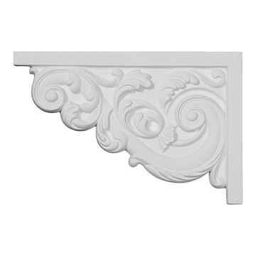 Restorers Architectural Ashford Medium Urethane Stair Bracket