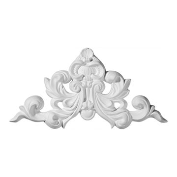 Restorers Architectural Ashford Shell & Scroll Urethane Onlay Applique