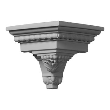 Restorers Architectural Attica Acanthus Leaf Outside Molding Corner
