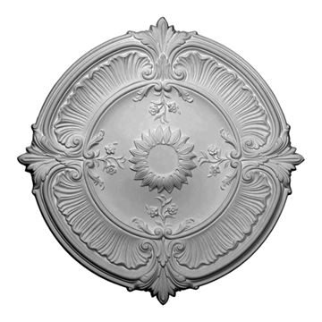 Restorers Architectural Attica Acanthus Urethane Ceiling Medallion