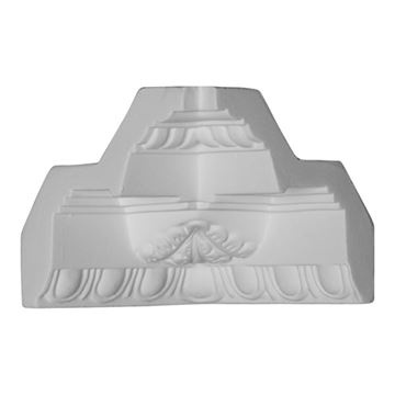 Restorers Architectural Attica Urethane Inside Molding Corner