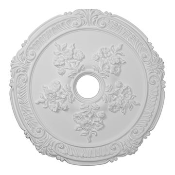 Restorers Architectural Attica with Rose Urethane Ceiling Medallion