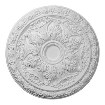 Restorers Architectural Baile 20 Inch Urethane Ceiling Medallion
