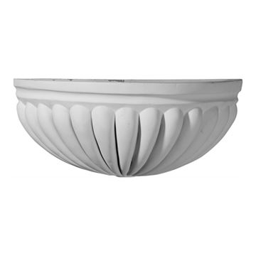 Restorers Architectural Basin Urethane Sconce