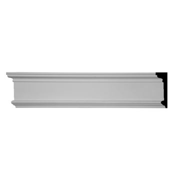 Restorers Architectural Bedford Large Flat Urethane Panel Molding