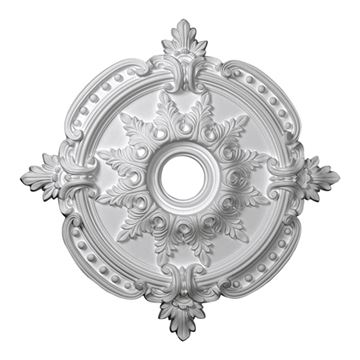 Restorers Architectural Benson Classic Urethane Ceiling Medallion