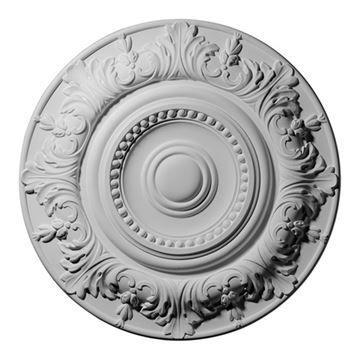 Restorers Architectural Biddix Urethane Ceiling Medallion