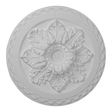 Restorers Architectural Bordeaux Deluxe Urethane Ceiling Medallion