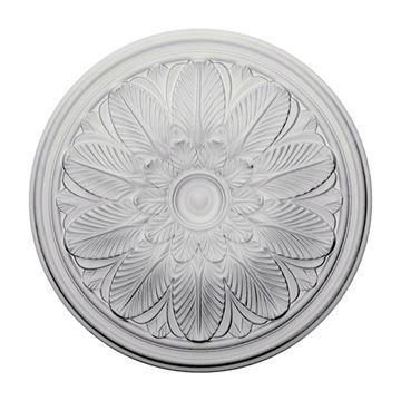 Restorers Architectural Bordeaux Urethane Ceiling Medallion