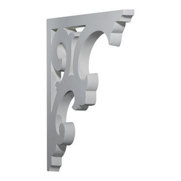 Restorers Architectural Chesterfield Urethane Bracket