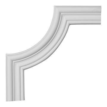 Restorers Architectural Claremont Smooth Corner Urethane Panel Molding