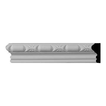 Restorers Architectural Classic Barrel Urethane Panel Molding