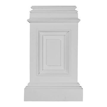 Restorers Architectural Classic Urethane Pedestal Base