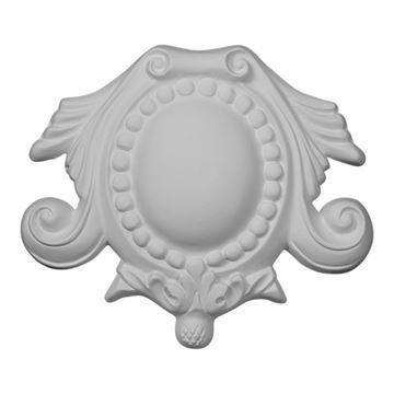 Restorers Architectural Cole Center Medallion Urethane Onlay Applique