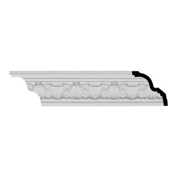 Restorers Architectural Colton Acanthus Urethane Crown Molding