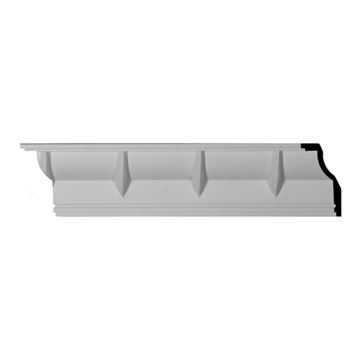 Restorers Architectural Deco Urethane Crown Molding