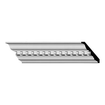 Restorers Architectural Dentil 2 3/4 X 2 3/4 Inch Crown Molding