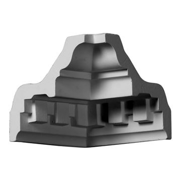Restorers Architectural Dentil Medium Urethane Inside Molding Corner