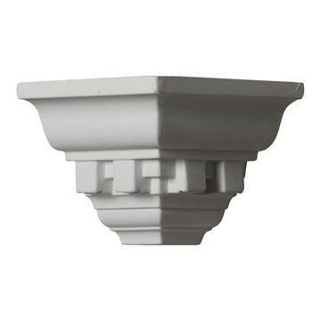 Restorers Architectural Dentil Urethane Outside Molding Corner