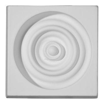 Restorers Architectural Devon Bullseye Urethane Plinth Block
