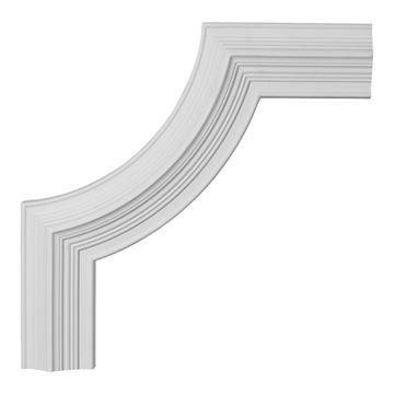 Restorers Architectural Edinburgh Corner Urethane Panel Molding