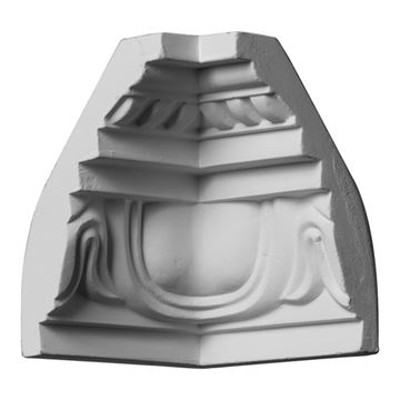 Restorers Architectural Edinburgh Rope Urethane Inside Molding Corner