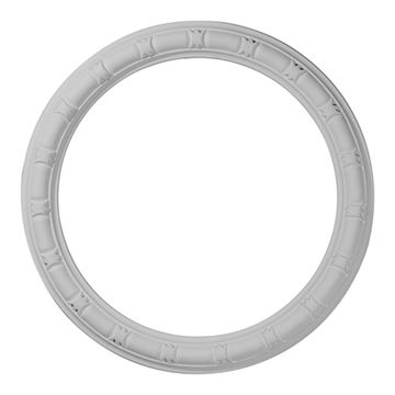 Restorers Architectural Egg & Dart Urethane Whole Ceiling Ring