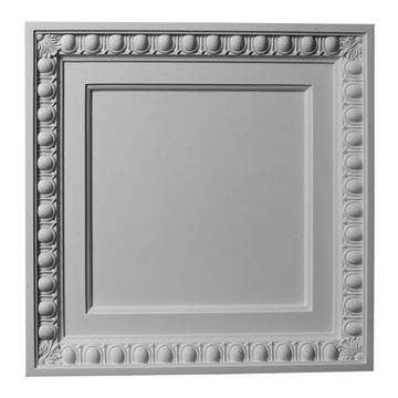 Restorers Architectural Egg And Dart Urethane Ceiling Tile