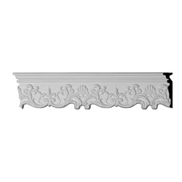 Restorers Architectural Emery Scroll Urethane Panel Molding