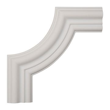 Restorers Architectural Emery Smooth Corner Urethane Panel Molding