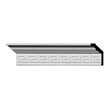 Restorers Architectural Eris Greek Key Urethane Crown Molding